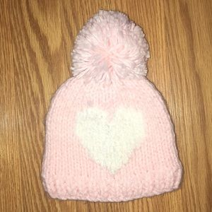 Carters baby girl knit hat size 3-9 months